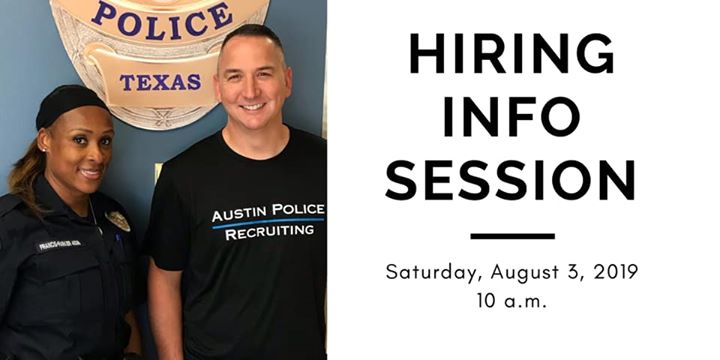 Hiring Information Session